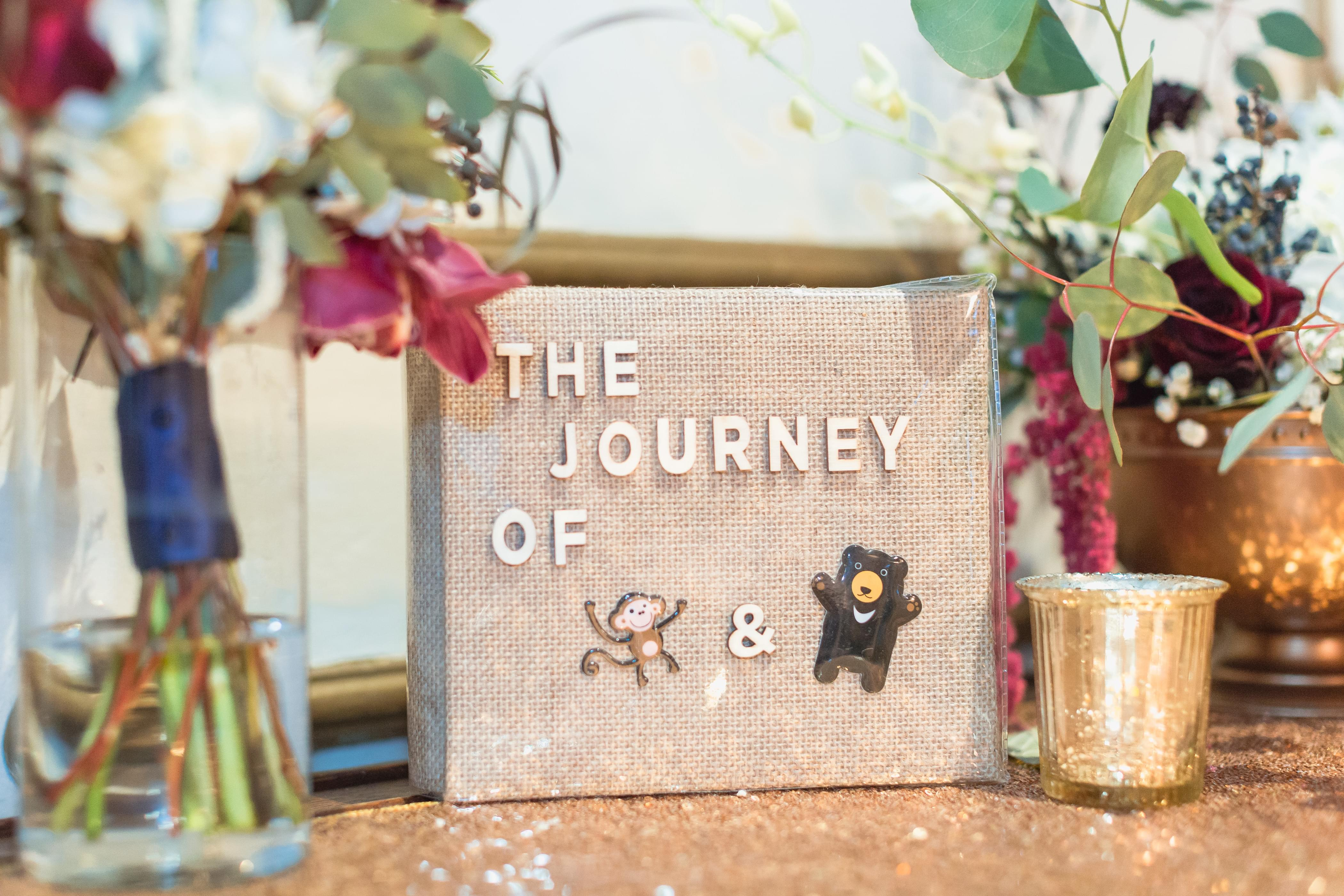 couple storybook wedding